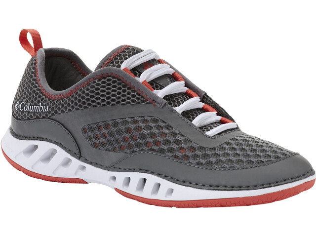 Columbia Drainmaker 3D Chaussures Femme, ti grey steel/red coral